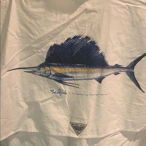 Colombia PFG shirt-Never worn